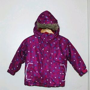 NorthPeak Girl Winter Jacket-  Size 5 (Purple)